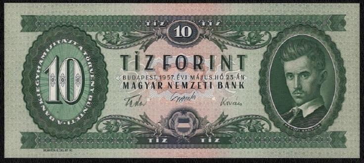 1957 10 forint