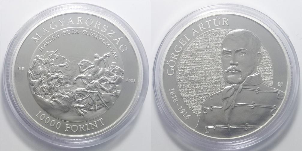 2018 Görgei Artúr 10000 forint
