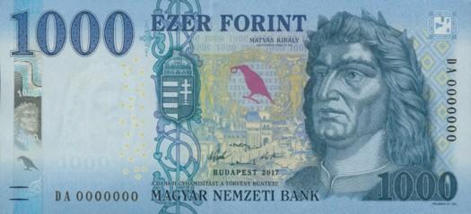 1000 forint bankjegy