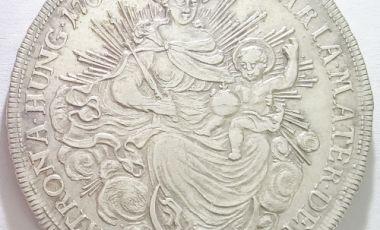 Mária Terézia ezüst pénz tallér