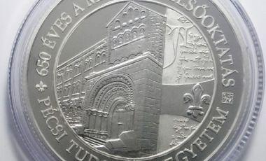 Ezüst emlékérem, Pécsi Egyetem