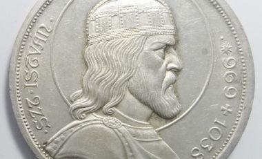 1938 Szent István ezüst 5 pengő