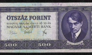 1969 Ady 500 forint