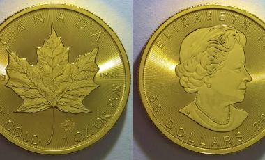 Befektetési arany érme