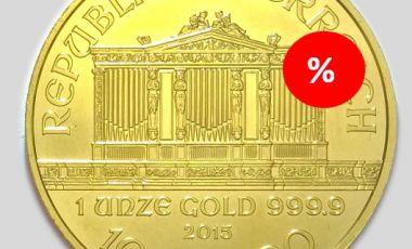 Befektetési arany akció