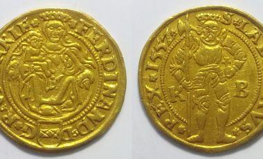 I Ferdinánd aranypénz