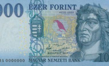 2018 1000 forint bankjegy