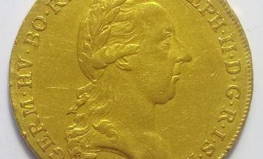 II József arany pénz 2 dukát